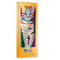 Art Wall Lynn-003-24x8-w Linzi Lynn 'Night Hunt' Gallery-Wrapped Canvas Artwork, 24 by 8-Inch