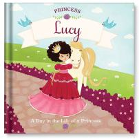 Birthday Gift for Girls, Princess Tea Party Book, Personalized Book for Kids