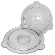 Cuchina Safe 2-Piece Vented Glass Microwave Safe Lids Set; Perfect Lid for Bowls, Mugs, and Pots (8 inch and 9 inch)