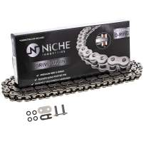 NICHE 420 Drive Chain 122 Links O-Ring With Connecting Master Link for Motorcycle ATV Dirt Bike