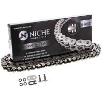 NICHE 420 Drive Chain 76 Links O-Ring With Connecting Master Link for Motorcycle ATV Dirt Bike