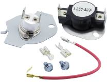 279816 Dryer Thermal Cut-off Kit Replacement Part by Blue Stars - Exact Fit for Whirlpool & Kenmore Dryers - Replaces 3399848 AP3094244 PS334299 279816VP