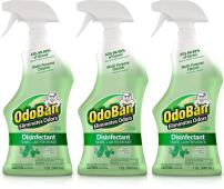 OdoBan 32 OZ Ready-to-Use Disinfectant Fabric and Air Freshener (Pack of 3)