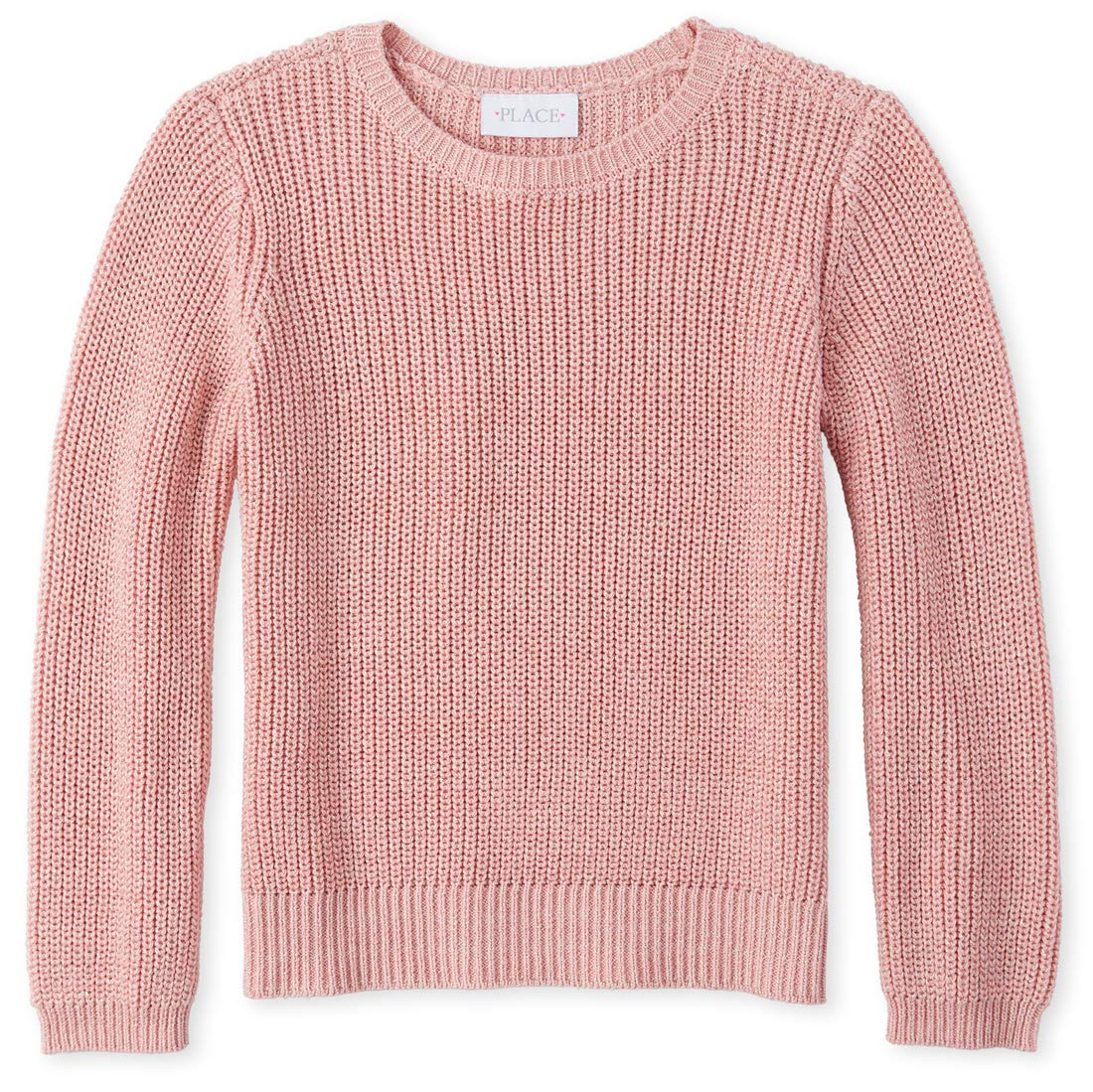 The Children's Place Big Girls' Novelty Solid Sweater