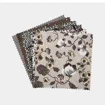 "Connecting Threads Print Collection Precut Quilting Fabric Bundle 5"" Charm Squares (Elemental Nuances)"