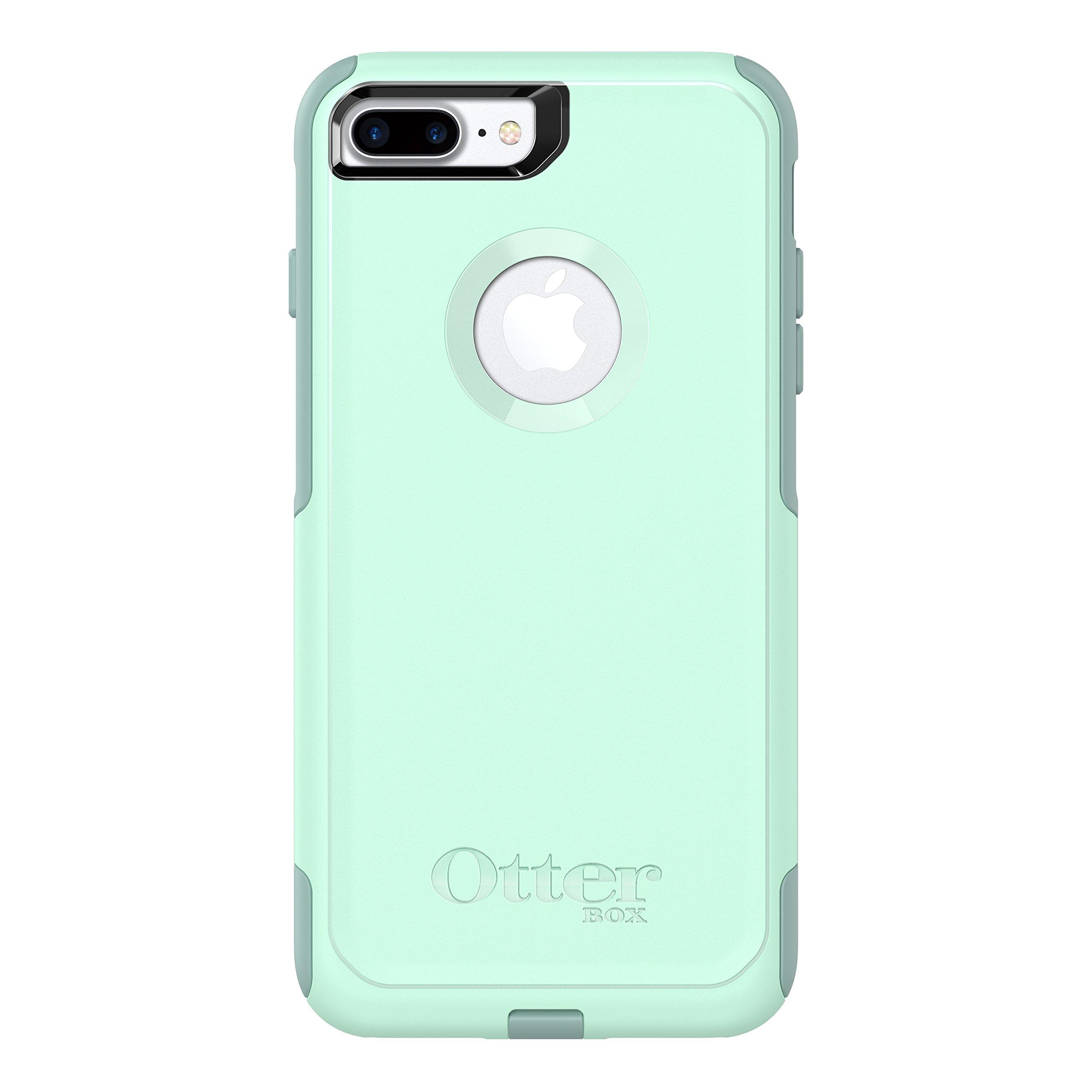 Otterbox Commuter Series Case for  Iphone 8 Plus & Iphone 7 Plus  - Retail Packaging - Ocean Way (Aqua Sail/Aquifer)