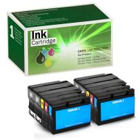 Limeink Compatible Ink Cartridge Replacements for HP 932XL & 933XL High Yield (4 Black / 2 Cyan / 2 Yellow / 2 Magenta, 10 Pack)