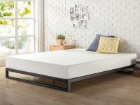 Zinus Trisha 7 Inch Heavy Duty Low Profile Platforma Bed Frame / Mattress Foundation / Box Spring Optional / Wood Slat Support, Twin