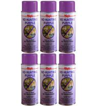 Majic Paints 8-206860-8 Camouflage Spray Paint 6-Pack, Aerosol, No Hunting Purple