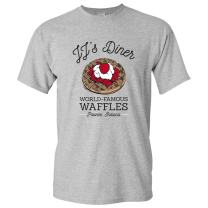 JJ's Diner - Leslie World's Best Waffles TV Show T Shirt
