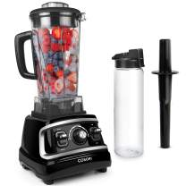 COSORI Blender for Shakes and Smoothies(Free Recipes), 1500W High Speed Professional Blender for Crushing Ice, Frozen Fruit with 70oz Pitcher&24oz Travel Bottle, UL Listed/FDA Compliant