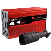 FORM 15 AMP Club Car Battery Charger for 48 Volt Golf Carts