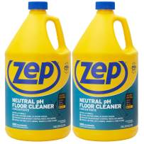 Zep Neutral pH Floor Cleaner Concentrate 1 Gallon (2 Pack) ZUNEUT128 - Pro Trusted All-Purpose Floor Cleaner