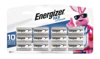 Energizer Lithium 123 Battery, 12-count