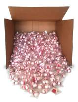 Red Bird Soft Peppermint Puff Candy Bulk, 1000 pieces individually wrapped, made with 100% cane sugar and natural peppermint oil