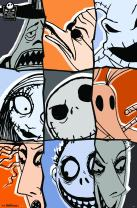 """Trends International The Nightmare Before Christmas Anniversary Wall Poster 22.375"""" x 34"""""""