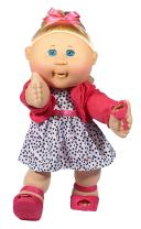 "Cabbage Patch Kids 14"" Kids - Blonde Hair/Blue Eye Girl Doll in Trendy Fashion, Multi, (Model: 99401US01)"