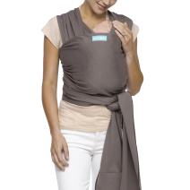 Moby Classic Baby Wrap (Slate) - Baby Wearing Wrap for Parents On The Go-Baby Wrap Carrier for Newborns, Infants, and Toddlers - Baby Carrying Wrap Ideal for Baby Wearing & Breastfeeding