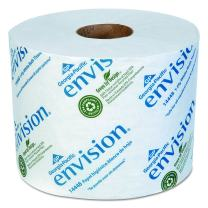 Envision 1-Ply Toilet Paper by GP PRO (Georgia-Pacific), 14448/01, 1,500 Sheets Per Roll, 48 Rolls Per Case