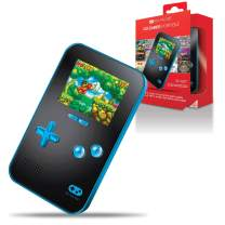 My Arcade Go Gamer Portable - Handheld Gaming System - 220 Retro Style Games - 16 Bit High Resolution - Battery Powered - Full Color Display - Volume Buttons - Headphone Jack - Blue