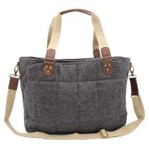 Damero Diaper Bag, Travel Baby Nappy Tote Messenger Bag, Horizontal