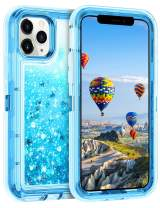Coolden Case for iPhone 11 Pro MAX Cases Protective Glitter Case for Women Girls Cute Bling Sparkle Heavy Duty Hard Shell Shockproof TPU Case for 2019 Release 6.5 Inches iPhone 11 Pro MAX, Blue