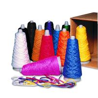 Pacon 00590 Trait-Tex Double Weight Yarn Cones, 2 oz, Assorted Colors (Box of 12)