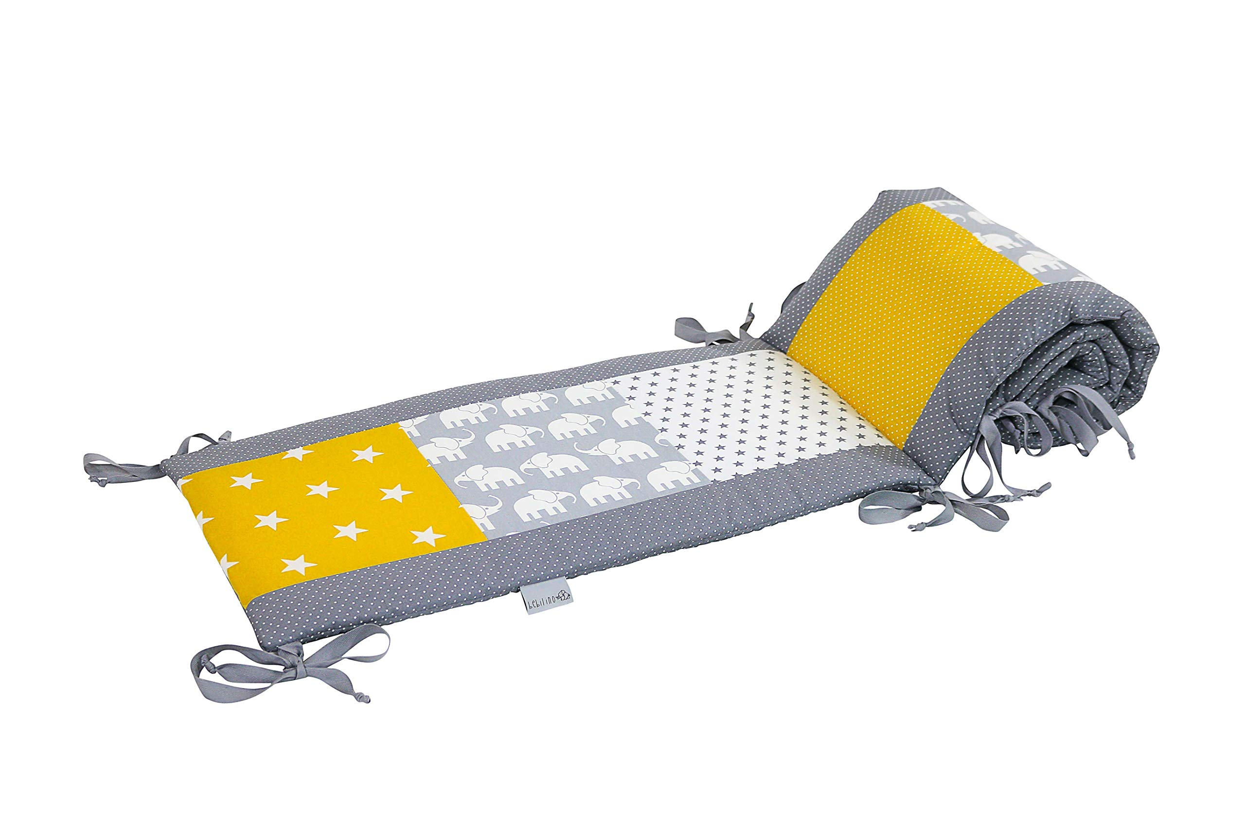 """Baby Crib Bumper Pads by ULLENBOOM 