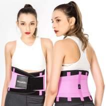 Waist Trainer Belt - Waist Back - for Lower Back Pain Support Braces for Lumbar Belt Body Shaper Belt Workout & Fitness