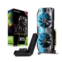 EVGA GeForce RTX 2060 Super XC Gaming, 8GB GDDR6, Dual HDB Fans, RGB LED, Metal Backplate + PowerLink 08G-P4-3162-Kp