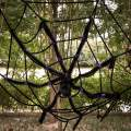 Halloween Decorations, 79 Inches Giant Halloween Spider with Spider web, Best Choice for Halloween Outdoor Decorations, Party Favor and Party Supplies