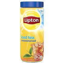 Lipton Unsweetened Iced Tea, Mix, 30 qt