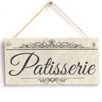 "Meijiafei Patisserie - Vintage PVC Sign/Plaque 10""x5"""