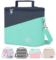 Simple Modern 4L Blakely Lunch Bag for Women & Men - Insulated Kids Lunch Box Two Tone: Bermuda Deep