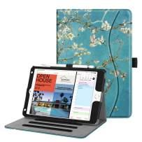Fintie Case for iPad Mini 5th Gen 2019 / iPad Mini 4 - [Corner Protection] Multi-Angle Viewing Smart Folio Cover w/Pocket, Pencil Holder, Auto Wake/Sleep for New iPad Mini 5 / iPad Mini 4, Blossom