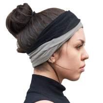 CHARM Beanie Neckwarmer Headband Scarf - Silk & Wool Multi-Use Hair Accessory