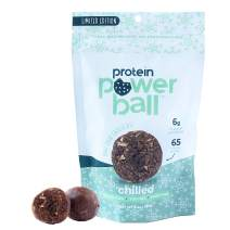 Protein Power Ball Healthy Snacks, Gluten Free, Dairy Free, Soy Free, Vegan Snack Energy Bites (Mint Dark Chocolate, 1 Pack)