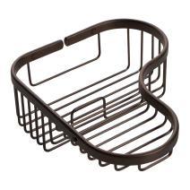 Ginger G504/ORB Splashables Corner Shower Basket, Oil-Rubbed Bronze, Combination
