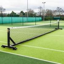 Vermont 360° Freestanding Tennis Posts [Aluminum] | Lightweight & 100% Portable – ITF Regulation [Black Or Green]