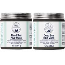 Natural Elephant Dead Sea Mud Mask (20oz (Pack of 2 9.9oz))