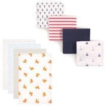 Flannel Receiving Blanket 8-Pack