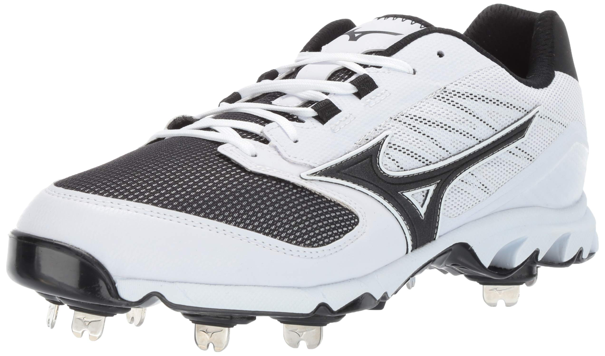 Mizuno Men's 9-Spike Dominant IC Low Metal Baseball Cleat Athletic Shoe