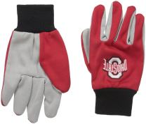 FOCO NCAA College Colored Palm Utility Glove