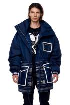 Jonny Cota Studio Nomad Oversized Parka Coat, Men's and Women's