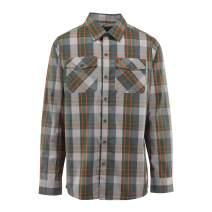 Browning Men's Powell Shirt, Long Sleeve Plaid Button Down Shirt for Men