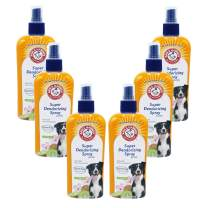 Arm & Hammer For Pets Super Deodorizing Spray for Dogs | Best Odor Eliminating Spray for All Dogs & Puppies, Kiwi Blossom Scent, 6.7 Ounces - 6 Pack