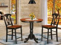 3 Pc Dining counter height set - Dinette Table and 2 counter height stool.