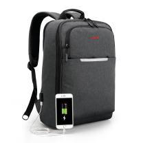 KUPRINE Travel Backpack, Lightweight Business Laptop Backpack with USB Charging Port, Water Resistant Computer Backpack for Men & Women, College Students Backpacks fit 15.6 Inch Laptops