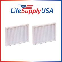 LifeSupplyUSA 2 Pack Replacement Filter Compatible with Hunter 30920 30905 30050 30055 30065 37065 30075 30080 30177