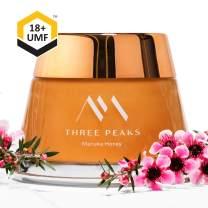 Three Peaks Manuka Honey New Zealand - Certified UMF 18+ - 7.05 oz (200gm) - 100% Natural honey, Raw honey – Ultra Premium, Healing Manuka honey